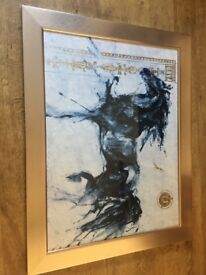 LEPA ZENA ARTWORK in Gold/Gilt Frame