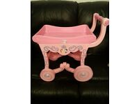 Disney princess tea trolley