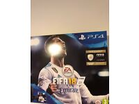 Brand new 1 tb PlayStation 4 with fifa unopened