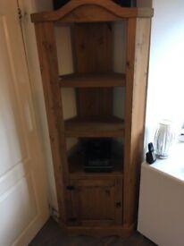 Wooden corner unit from Corona furniture range
