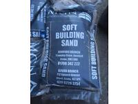 Soft builders sand & Quinn cement