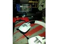 Ps4 500gb with 1 pad and 5 top games