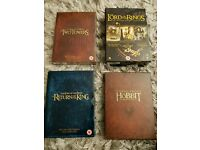 Lord Of The Rings & Hobbit box sets