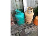 2 Gas Canisters (empty)