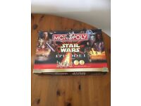 STAR WARS Episode I Monopoly Board game Vintage Limited Collectors Edition Excellent condition