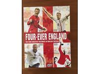 Four-ever England dvd box set