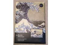 The British Museum Counted Cross Stitch kit: The Great Wave by Hokusai.
