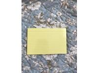 Yellow Stables Revision/Flash Cards X25