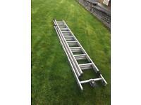 Triple extension ladders