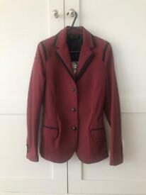 Cavalleria Toscana Show Jacket , Ladies UK8/IT40 , Burgundy, Brand New with Tags!