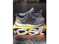"""Adidas Ultraboost 3.0 Limited Edition """"Leather Cage Grey Suede"""" - Size 9"""