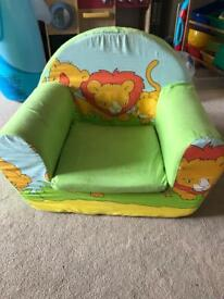 Toddlers arm chair
