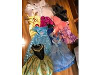 Bundle of 9 dressing up outfits will sell separately Disney Princess Halloween