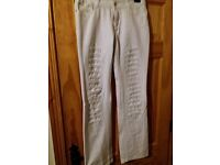 2 pairs of ladies jeans size 12