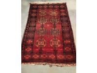 Thick pile hand-knotted rug (Reduced Price)