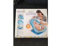 "Baby""s blue bath support"