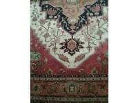 Very nice Pashmina India carpet 10'6ins Long X 8'6ins Wide.