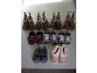 £4 EACH - MOTHERCARE BABY SHOES AND BOOTS - BRAND NEW WITH TAGS - VARIOUS STYLES AND COLOURS