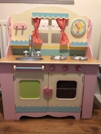 Early learning centre wooden kitchen