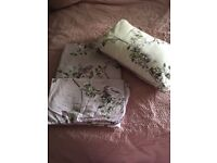 Lilac single duvet cover and matching cushion- from Dunelm Mill