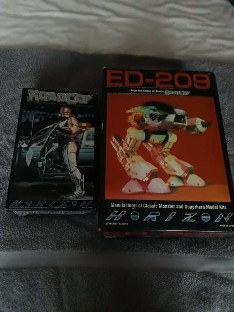 Robocop and ED209 model kits for sale   in Chester Le Street, County Durham    Gumtree