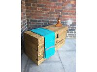 Rustic trunk bench/coffee table/linen storage chest. Handcrafted, reclaimed wood. Local delivery.
