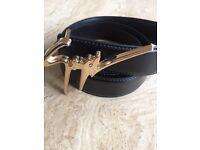 Giuseppe zanotti designer luxury belt brand new