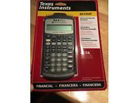 Texas Instruments BA II Plus (brand new)