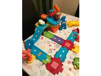 Vtech toot toot airport set PLUS extras