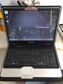 PackardBell laptop webcam wifi windows 7 professional Microsoft office