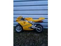 2 mini motos 49cc