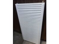 Large central heating radiator