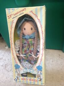 Holly hobbie 25th anniversary doll