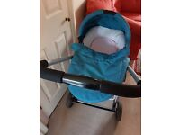 Icandy CHERRY pram pushchair with carry cot and free swing