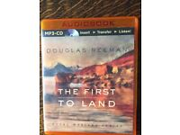 TWO DOUGLAS REEMAN MP3-CD AUDIO BOOKS - DUST ON THE SEA & THE FIRST TO LAND