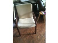 Rosewood dining chairs for upcycling/refurbishment
