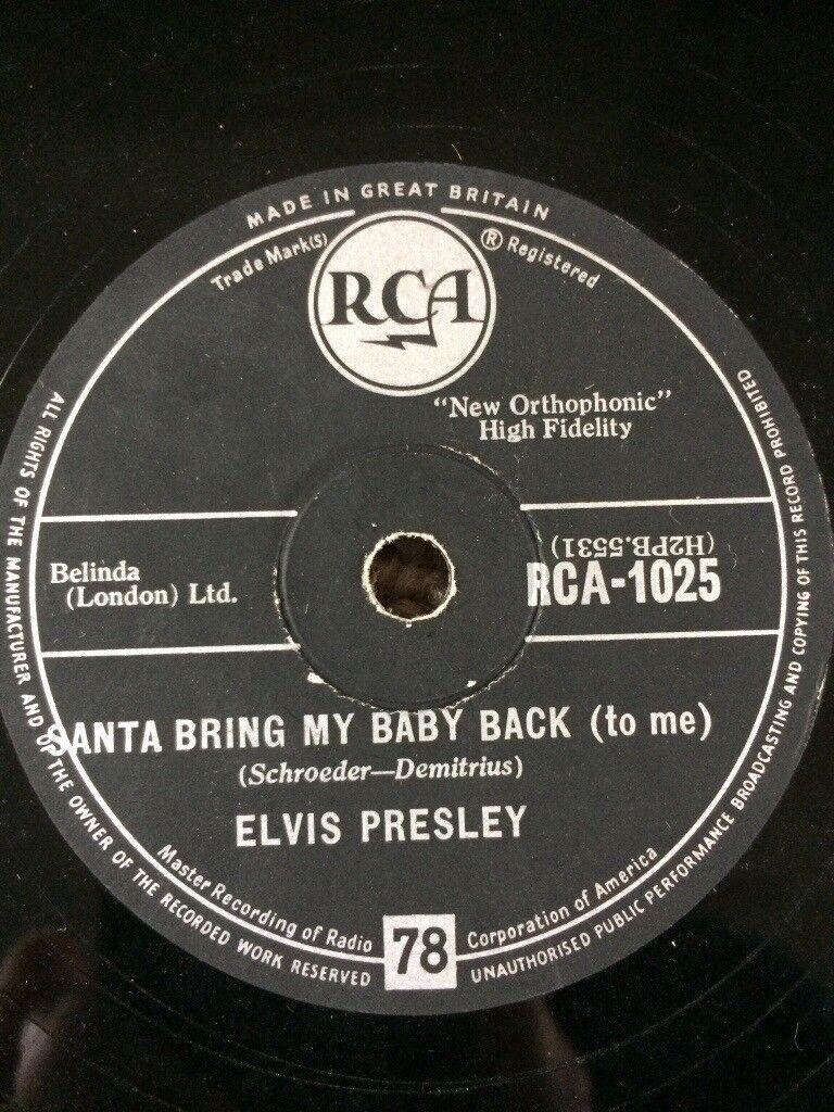 Elvis Presley original 78.