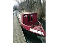 Narrow boat 43ft