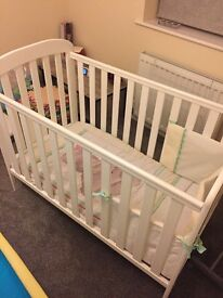 Cot Immaculate condition plus hypoallergenic mattress