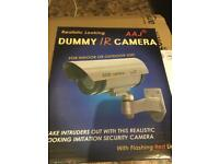 Three fake battery operated cctv cameras
