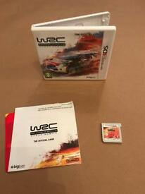 WRC World Rally Championship Nintendo 3DS 2DS game