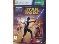 Star Wars Kinect for the 360 also the Kinect