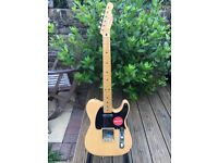 Fender Squire Classic Vibe Telecaster Guitar in Butterscotch Blonde