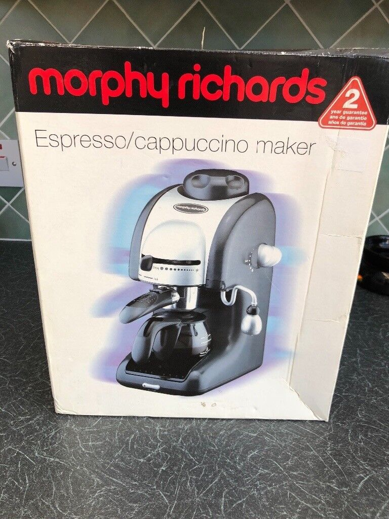 Brand New In Box Morphy Richards Espresso Machine With Milk Frother For Cuppuccino Latte Etc In Broughty Ferry Dundee Gumtree