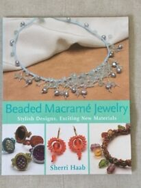 Instruction books for making beaded jewellery using macrame and Chinese knot techniques