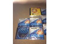 15 brand new discs DVD-RW CD-R computer discs