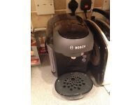 Almost new Bosh Tassimo coffee machine