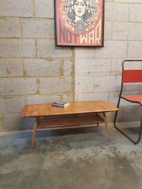 Ercol Mid Century Vintage Coffee Table
