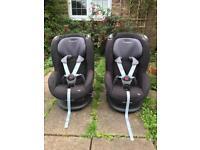 2 x Maxi Cosi Tobi car seats