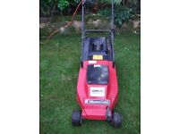 Mountfield Princess 14 electric Lawnmower Great Condition hardly used.